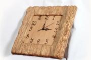 Настенные,  деревянные Часы ручной работы