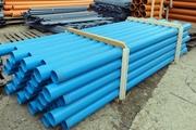 Трубы пластиковые обсадные ПВХ с резьбой для скважин на SKVAGINA.BY