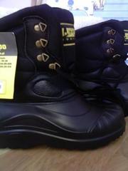 ботинки для зимней рыбалки