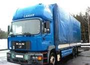 Продается автопоезд (грузовик MAN 23.414 FNLLC + прицеп CMT PT 12-20)
