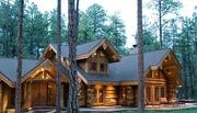 Деревянные дома, включая каркасные по новым технологиям-очень экологичн