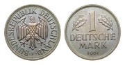 Bundesrepublik Deutschland 1 DM 1961 F Stempelglanz