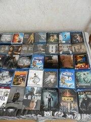 Коллекционные издания Blu-ray дисков с фильмами,  а также игровые.