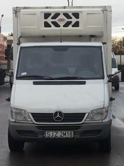 Грузоперевозки фургонами-рефрижераторами