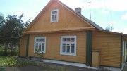Одноэтажный деревянный жилой дом с участком,  г. Новогрудок