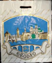 Пакет полиэтиленовый с фирменным логотипом.