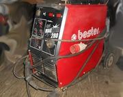 Профессиональный сварочный полуавтомат Bester 35-270A Magster 280 4X4.