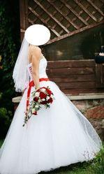 Продам свадебное платье размер 40-42,  рост 165-170 см