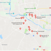 Размещение бизнеса на картах Google  и Яндекс