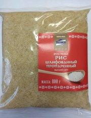 Рис шлифованный пропаренный