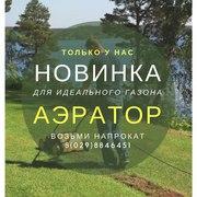 Аэратор для газона напрокат в Гродно